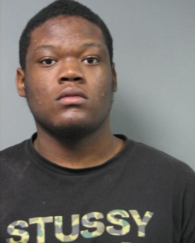 Jamal Jones Age: 17 Dover, DE Charges: Assault 1st Degree (2x) Possession of a Firearm During Commission of Felony Possession of Firearm by Person Prohibited Wearing a Disguise During Commission of Felony Conspiracy 2nd Degree Receiving Stolen Property (suspect vehicle) Bond: $199,000 Cash (Committed)
